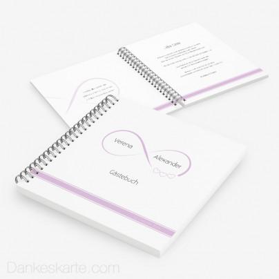 Gästebuch Infinity Heart