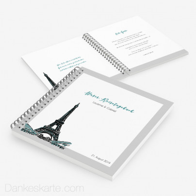 Gästebuch Pariser Chic