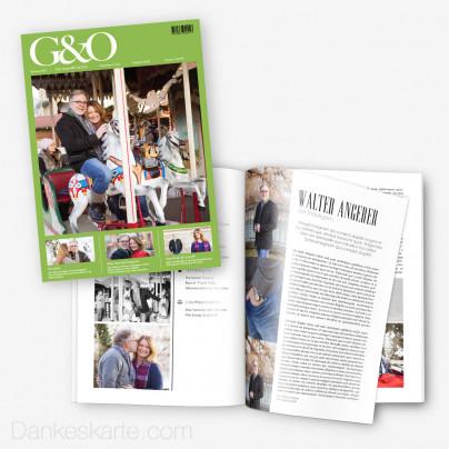 Hochzeitszeitung G&O - 20 Seiten