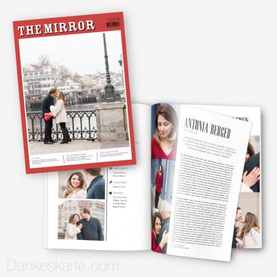 Hochzeitszeitung The Mirror - 20 Seiten