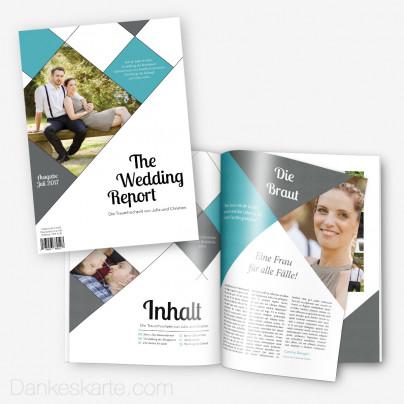 Hochzeitszeitung The Wedding Report - 24 Seiten