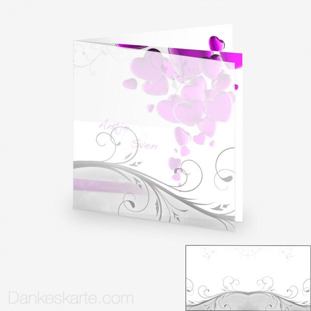 Transparente Hülle Ranken 1 (für 14.5x14.5cm Karten)