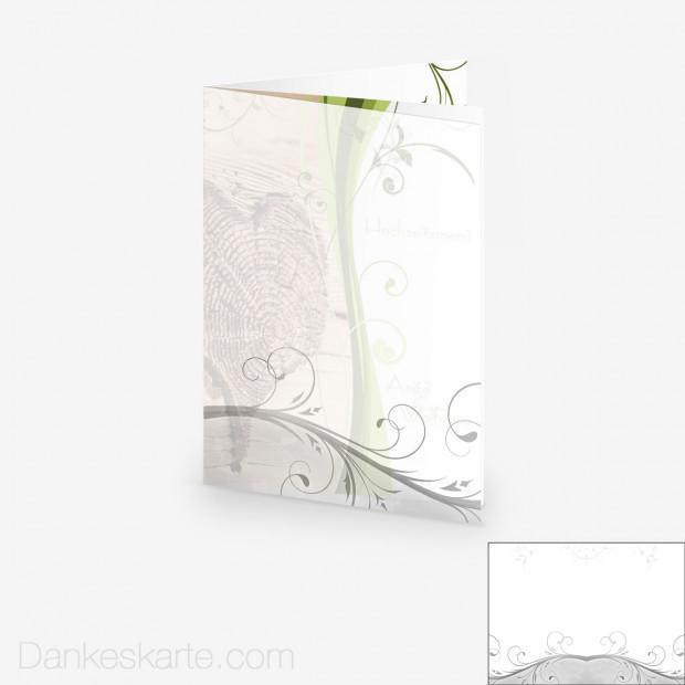 Transparente Hülle Ranken 1 (für 15x21cm Karten)