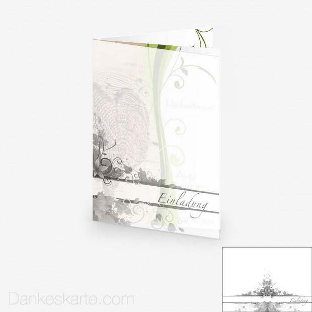 Transparente Hülle Ranken 2 (für 15x21cm Karten)
