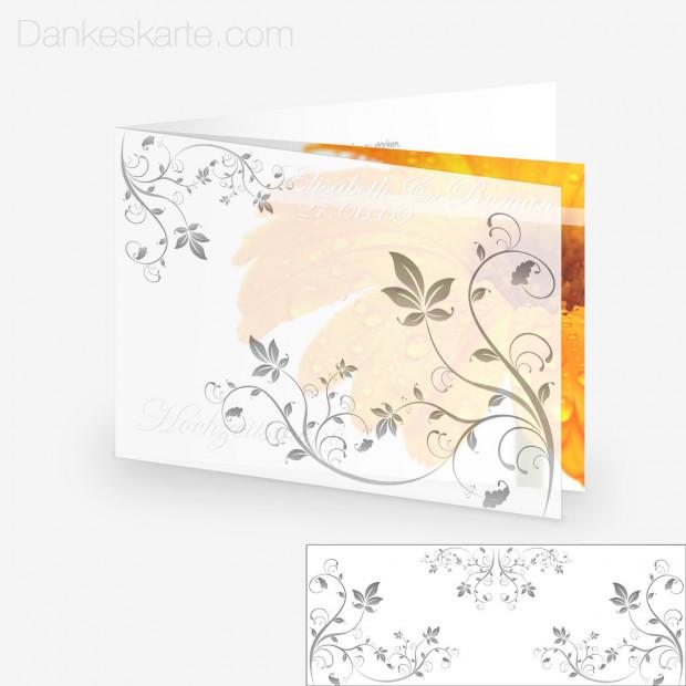 Transparente Hülle Ranken 3 (für 21x15cm Karten)