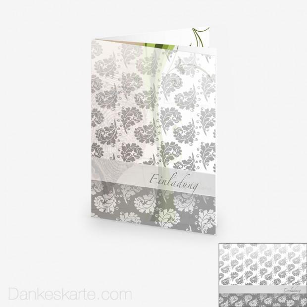 Transparente Hülle Ranken 10 (für 15x21cm Karten)
