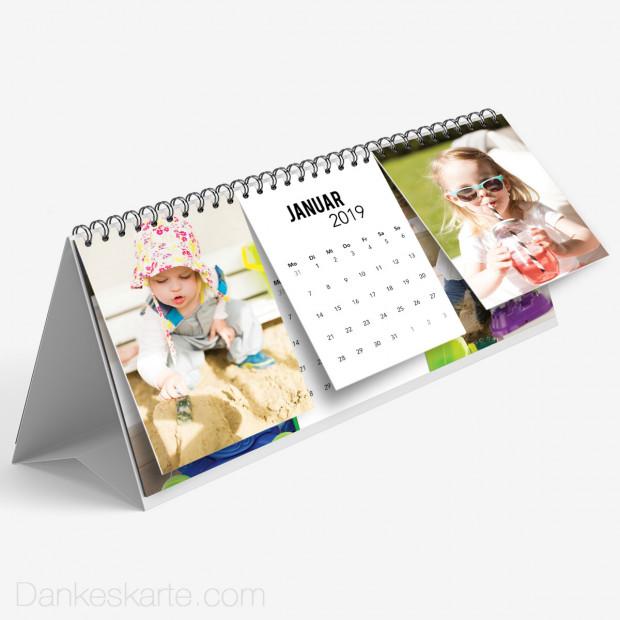 Tischkalender Bilderreich 26 x 12 cm
