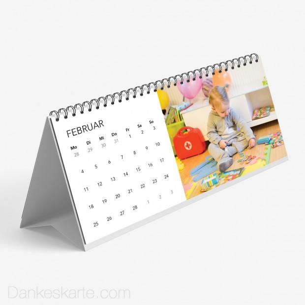 Tischkalender Klassiker 26 x 12 cm