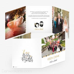 76 Danksagungstexte Für Dankeskarten Zur Hochzeit Dankeskarte Com