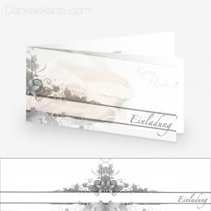 Transparente Hülle Ranken 2 (für 21x10cm Karten)