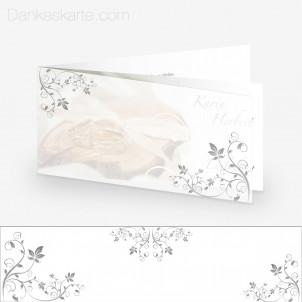 Transparente Hülle Ranken 3 (für 21x10cm Karten)