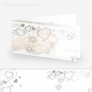 Transparente Hülle Ranken 8 (für 21x10cm Karten)