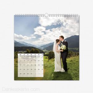 Fotokalender Klassiker Quadratisch