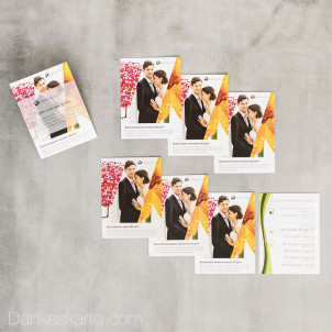 Dankeskarte.com Papier-Muster-Set