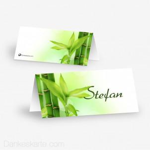Tischkarte Aufsteller Bambus 10 x 4.5 cm