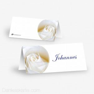 Tischkarte Aufsteller Imago Rose 10 x 4.5 cm