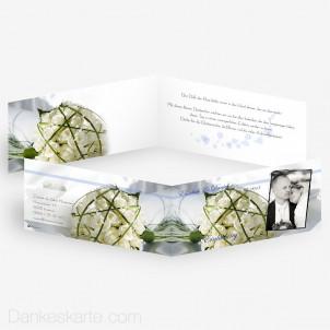 Hochzeitseinladung Accent 2 21 x 10 cm