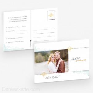 Antwortpostkarte Pocketfold Elegance 14 x 10 cm
