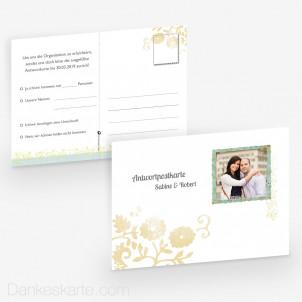 Antwortpostkarte Pocketfold Picture Frame 14 x 10 cm
