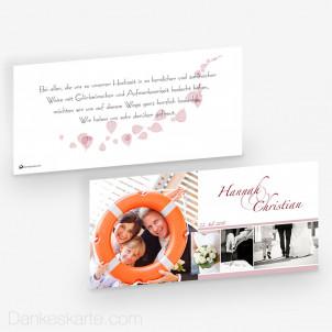Dankeskarte Avanturin 21 x 10 cm