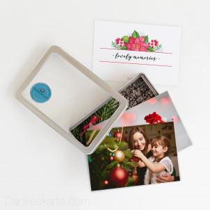 Bilderbox Weihnachtsstern 15 x 10 cm