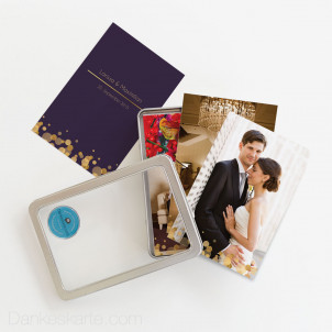 Bilderbox Purple Gold 10 x 15 cm