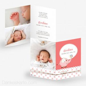 Geburtskarte Entzückend 10 x 15 cm