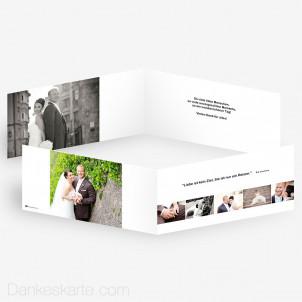 Dankeskarte Easy 21 x 10 cm