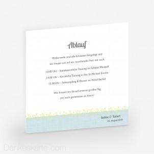 Einlegekarte Pocketfold Picture Frame 14 x 14 cm