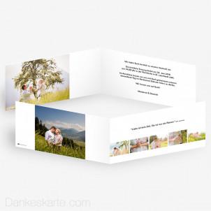 Hochzeitseinladung Easy 21 x 10 cm