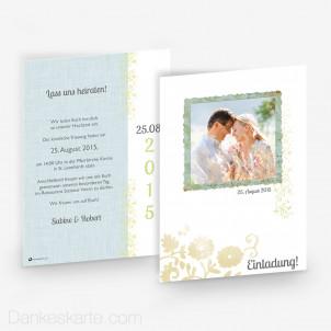 Hochzeitseinladung Picture Frame 15 x 21 cm