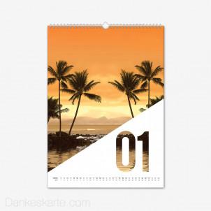 Fotokalender Diagonale Hochformat