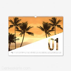 Fotokalender Diagonale Querformat