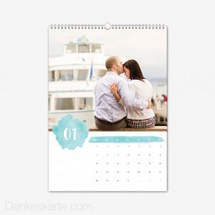 Fotokalender Farbtupfer Hochformat