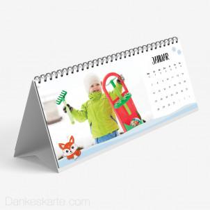Tischkalender Tierfreunde 26 x 12 cm