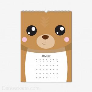 Fotokalender Tierisch Hochformat