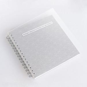 Cover aus Acrylglas für Gästebücher mit 60 und 90 Seiten