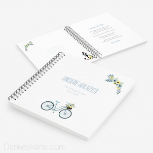 Gästebuch Bicycle Love