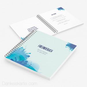 Gästebuch Farbklecks