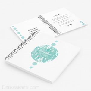 Gästebuch Farbtupfer