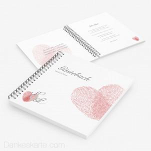 Gästebuch Fingerprint