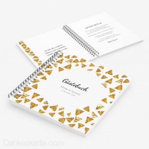 Gästebuch Goldschimmer 2