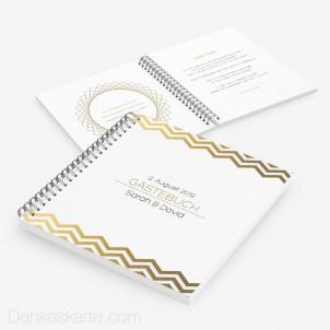 Gästebuch Goldstück