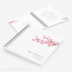 Gästebuch Kirschblüten