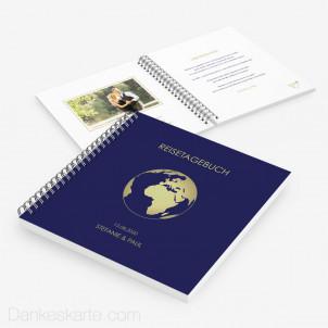 Gästebuch Reisepass Globus