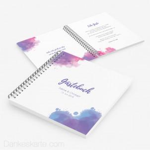 Gästebuch Tintenkleckse