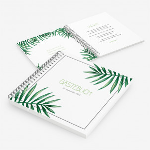 Gästebuch Tropical