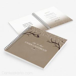 Gästebuch Verschneit