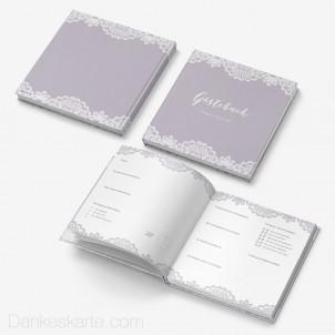Gästebuch Hardcover Einsame Spitze 21x21cm