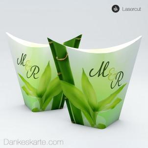 Gastgeschenkverpackung China-Box Bambus 8.5 x 3.5 cm